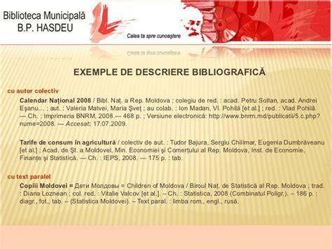 Andrei Bajura descrierea bibliografica a documentului
