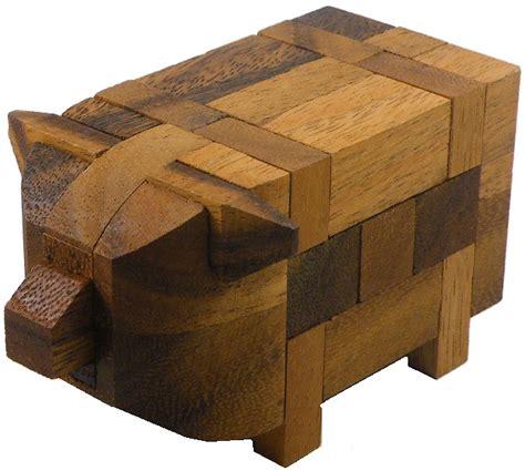 2 Set Woodem Puzzle Vegetanle And My Part pig kumiki 3d brain teaser wooden puzzle