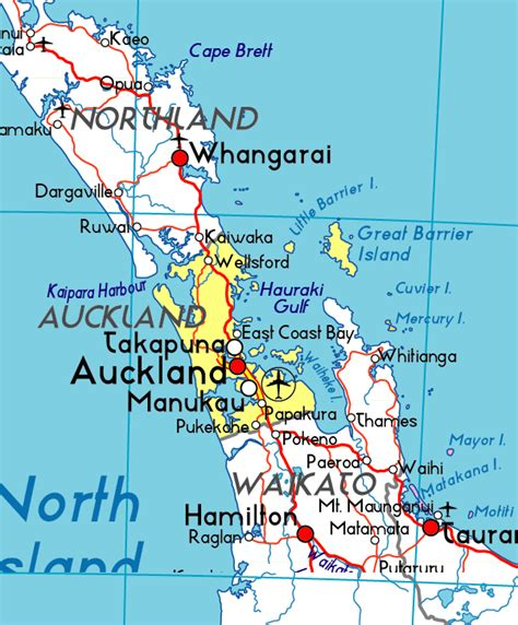 Auckland Search Map Of Auckland Auckland Maps Mapsof Net