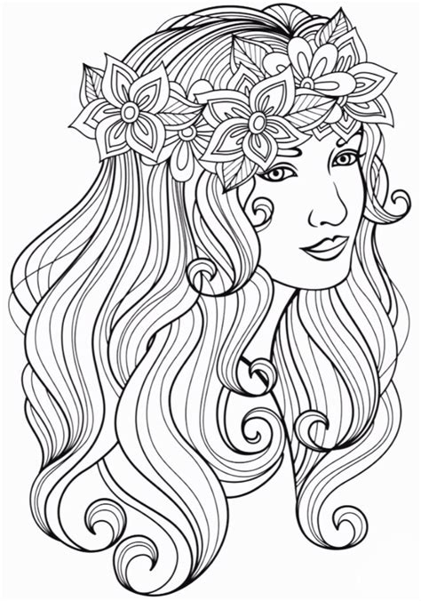 beautiful woman coloring page people coloring pages coloring pages adult coloring pages