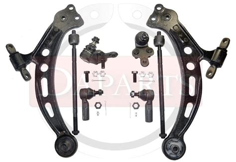 Camry Rh Low Armsuspension Armsayap 92 96 toyota camry suspension arm tie rod end joint rh lh parts