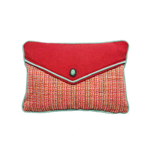 Newport Pillows Made In Usa by Chanel Petal Vanity Tomato Accent Pillow Overstock