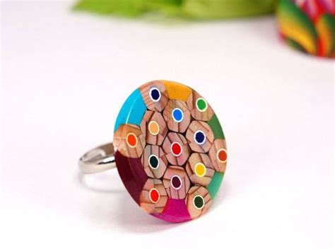 colored pencil ring rings from colored pencils ring from colored pencils