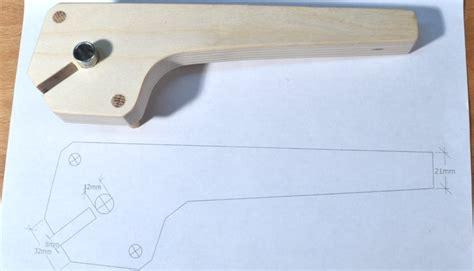 dowel template diy simple self centering doweling jig for 1 by