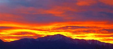 blue walls in pikes peak pin by simpkins on sunsets