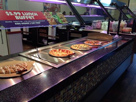 We Didn T Try It But Heres A Pic Of The Pizza Quot Buffet The Pizza Buffet