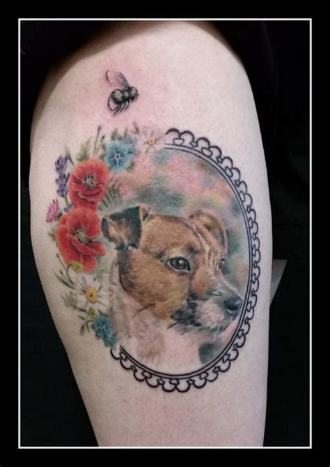dog portrait tattoo 25 best ideas about portrait on