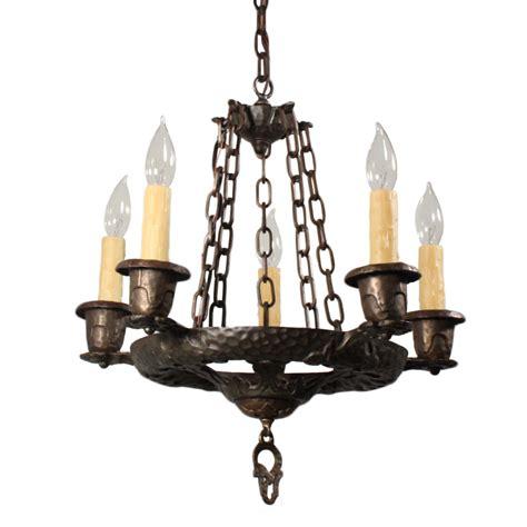 Antique Cast Iron Chandelier Handsome Antique Five Light Tudor Chandelier Cast Iron Nc1650 Rw For Sale Antiques