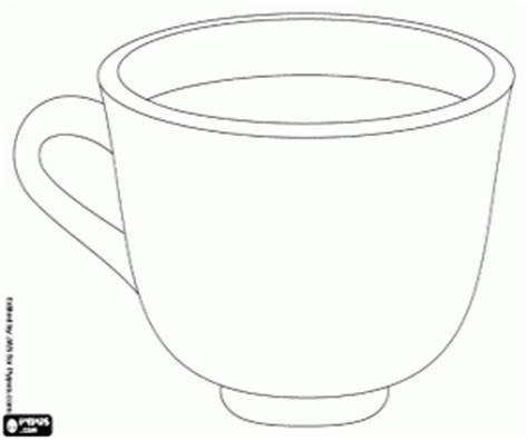 teacup coloring coloring pages