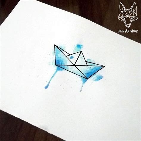 origami boat logo image result for origami boat tattoo meaning talented