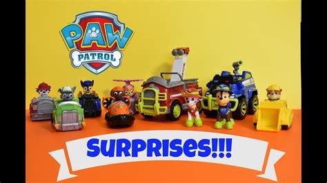 Blind Bag Toys Paw Patrol paw patrol blind bag toys marshall rubble