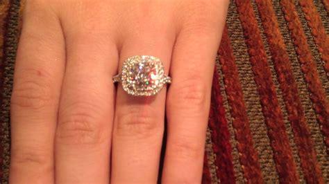 tiffany cushion cut halo engagement rings tiffany s