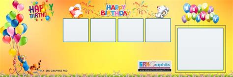 Birthday Photoshop Template birthday flex banner background designnokiaaplicaciones