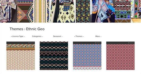 Geos Gendongan Motif Rocket 6 ethnic geo aw1718 curated seasonal trend theme on the patternbank studio ムードボード プリント