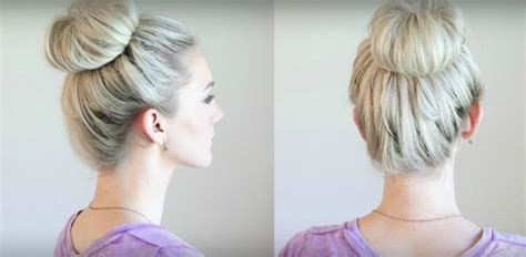 can you get a messy bun look with the bun maker 6 simple ways to wear the messy bun trend video simplemost