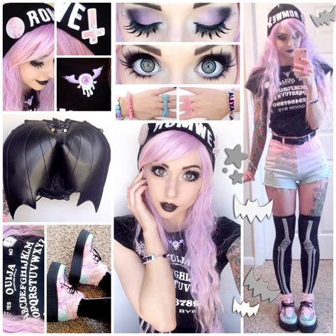 brown design group instagram alexa s style blog pastel goth daily style post