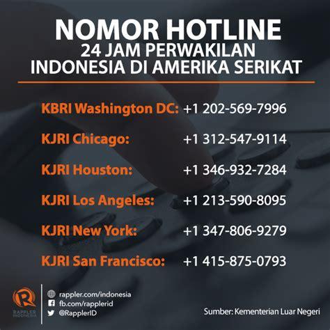 pemerintah sediakan nomor wa untuk warga yang kesulitan antisipasi kebijakan imigrasi trump pemerintah indonesia