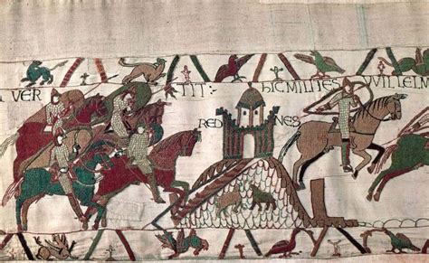 Tapisserie Rennes by Bayeux Tapestry Siege Of Rennes Jpg