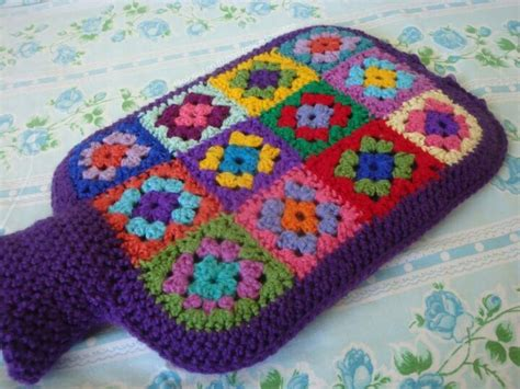 pattern crochet hot water bottle cover hot water bottle cover fete craft stall ideas pinterest