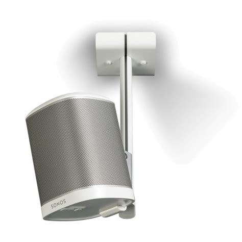flexson ceiling mount for sonos play 1 white single