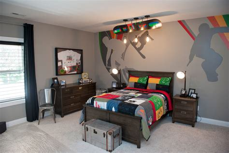 Boys Sports Bedroom by Fascinating Design Ideas For A Teen S Bedroom