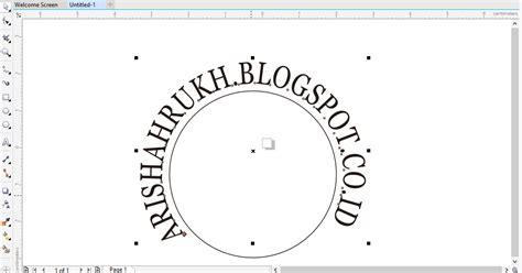 cara membuat video dan tulisan cara membuat tulisan melengkung dan melingkar di coreldraw