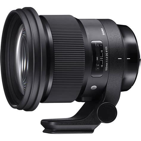 Sigma F 1 4 Nikon sigma 105mm f 1 4 dg hsm lens for nikon f 259955 b h photo