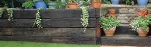 retaining sleeper wall inspirations