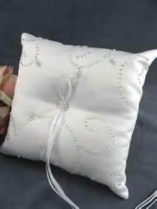 beaded elegance wedding ring bearer pillow wedding