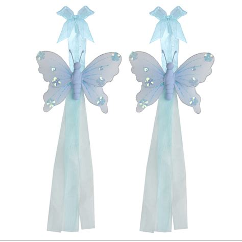 Butterfly Tiebacks Curtain Holder Blue Jewel Girl Nursery Nursery Curtain Tie Backs Uk