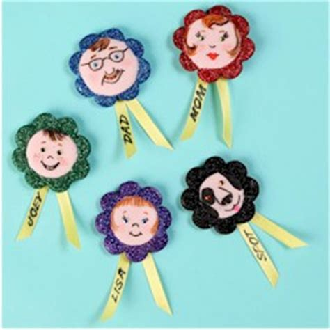 family crafts family sticks together magnets
