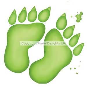 Monster footprint sheet 61cm discontinued