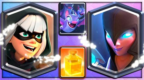 bandit witch bats heal 4 new clash royale cards