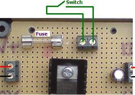 12 volt resistor switch buy 12 volt regulator with fuse and switch terminals reuk co uk