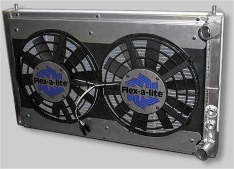 flex a lite electric fan kit flex a lite flx 420 electric fan kit 2500 cfm toyota