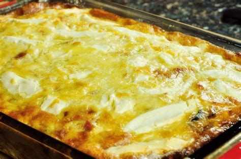 Crustless Quiche With Cottage Cheese by Cheesey Crustless Quiche Recipe