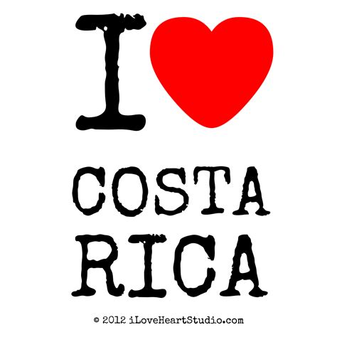 Now Designs Kitchen Towels by I Love Heart Costa Rica Design On Poster Mug T Shirt And