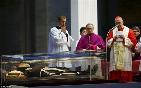 when did st live padre pio arrives back at the vatican nearly 50 years