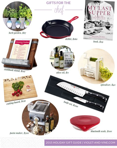holiday gift guide 2015 gifts for the chef