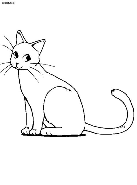 Gatti 3 Disegni Per Bambini Da Colorare Three Kittens Coloring Page