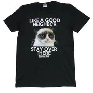 grumpy cat good neighbor t shirt like pinterest