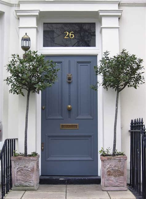 blue front door choose the best color for your front door