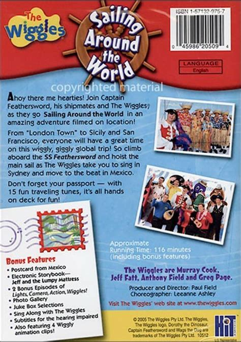 sailing around the world volume 1 adventures of a second books wiggles sailing around the world dvd 2005 dvd empire