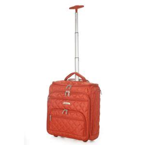aerolite small underseat cabin luggage trolley bag