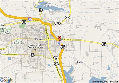 us map conway arkansas map of comfort suites conway conway
