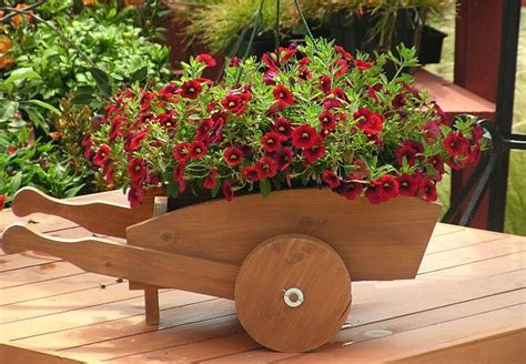 Wheelbarrow Planter Box by 17 Best Images About Planters On Planters