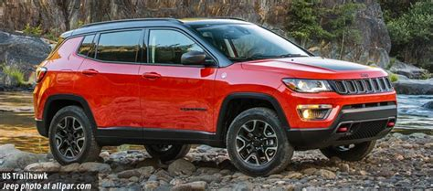 2018 jeep compass trailhawk 2017 2018 jeep compass new compact crossover with an old name