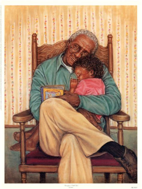 kids sexart art print grandpa s little girl by marla