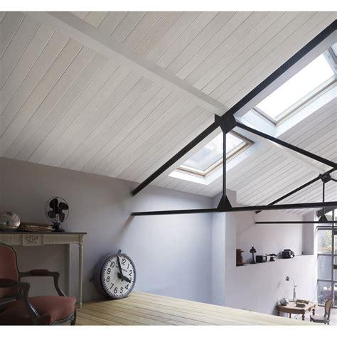 Lambris Blanc Plafond by Lambris Pvc D 233 Cor Bois Blanc Mat Country Grosfillex L