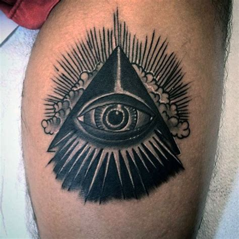 the all seeing eye tattoo 50 traditional eye designs for school ideas